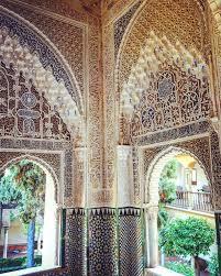 moorish architecture alhambra granada spain the moorish architecture in alhambra a