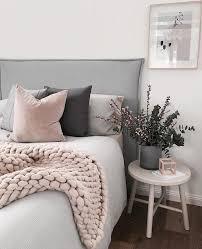 chambre grise et poudré poudre chambre gris ado couleur decorer tendance clair fille ma