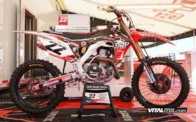 honda motocross bike justin barcia bikes of the monster energy cup motocross