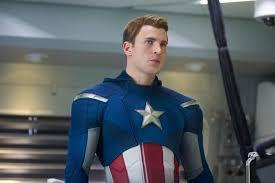 white captain america gq