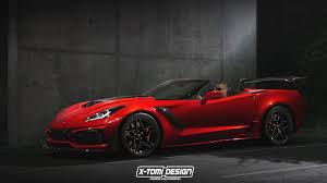 corvette supercar 2019 corvette zr1 convertible by xtomi review top speed