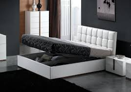 Ottoman Faux Leather Bed Montina High Gloss Faux Leather Storage Bed White Ideas For