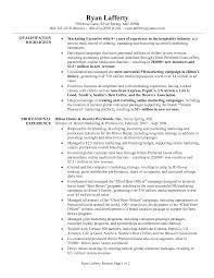 sle internship resume resum sle executive resumes sles template sales cv account manager