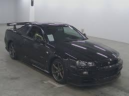 nissan skyline in japan 1999 nissan skyline r34 gt r japanese used cars auction online