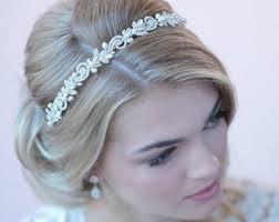 pearl headband pearl headband etsy