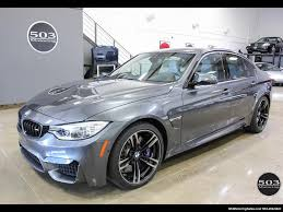Bmw M3 2016 - 2016 bmw m3 loaded spec in stunning mineral gray w 3k miles