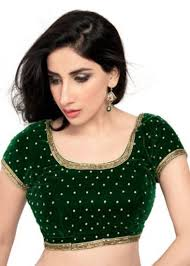 readymade blouses buy green zardosi work stitched velvet readymade blouses