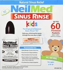 amazon com neilmed u0027s sinus rinse pediatric complete saline