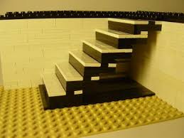 Retractable Stairs Design Retractable Staircase A Lego Creation By David Hoffmann