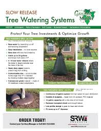 srw products garden master tree watering bag