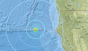Usgs Real Time Earthquake Map Usgs Magnitude 5 7 Earthquake Strikes Off Northern California
