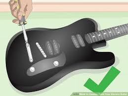 how to custom paint your electric guitar with pictures wikihow