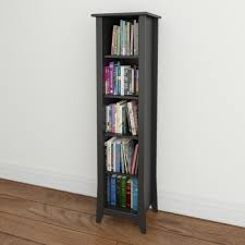 Narrow Bookcase Espresso by Top 15 Narrow Bookshelf And Bookcase Collection