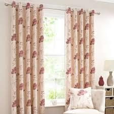 Dunelm Curtains Eyelet Amelia Red Lined Eyelet Curtains Dunelm