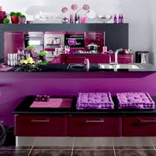 cuisine en violet en cuisine le violet ne compte pas pour des prunes côté maison