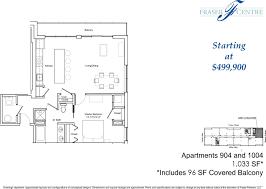 at t center floor plan unit 1004 u2013 1br 1 5ba floor plan u0026 views fraser centre condominiums