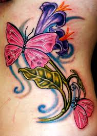 Flower Butterfly Tattoos 01 Pictures Of Flower And Butterfly Tattoos Insigniatattoo Com