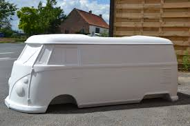 mini camper van poly creation eu fiberglass splitscreen camper van tot rod
