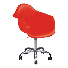 Wholesale Armchairs Wholesale Red Plastic Wheels Base Office Armchairs From China