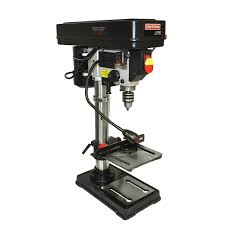 craftsman 10 in bench drill press w laser trac power magnetic