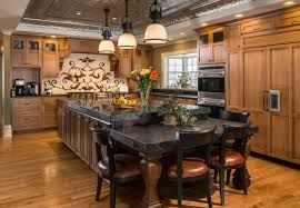 Kitchen Island With Table Home Wood Specialties Inc