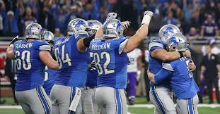 lions thanksgiving day game a year after cleaning house the lions are in first place in the