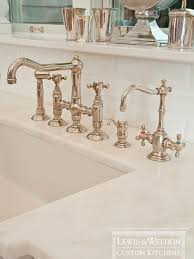 Kitchen Faucets For Farm Sinks Apron Sink Traditional Kitchen Lewis And Weldon