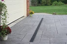 patio drainage problem lawn drainage company ann arbor michigan