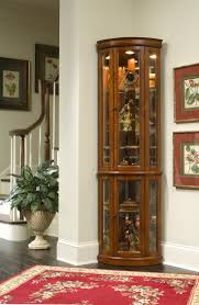 curio cabinet splendid midentury red dining room designs with