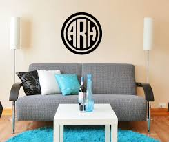 Dorm Wall Decor by Preppy Circle Dorm Room Custom Wall Monogram Decor 2 Ur Door
