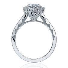ring setting tacori engagement rings bloom halo setting 69ctw
