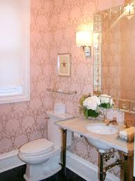 Decorating Powder Rooms Reasons To Love Retro Pink Tiled Bathrooms Hgtv U0027s Decorating