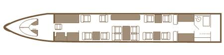 Private Jet Floor Plans Gulfstream Givsp 12 Seats Private Jet Charter Management For