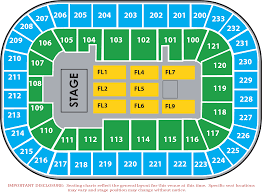 Greensboro Coliseum Floor Plan Seating Maps Bon Secours Wellness Arena