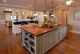 kitchen island with wood top wood island tops kitchens reclaimed hickory island with wood top