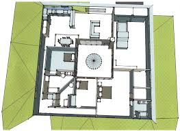 house plans with atrium house plans with atrium in middle house