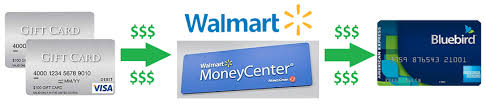 bank gift cards state of the union bluebird serve and go bank reloads at walmart