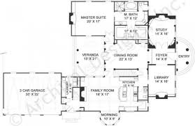 House Plans First Floor Master Pollard Archival Designs 4000 Sq Ft House Plans
