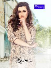 Meem Online - the designer meem vol 4 cotton rayon kurti wholesale online