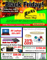 best black friday jewelry deals 2016 black friday deals rick u0027s antelope valley pawn shop