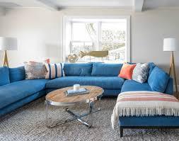Nautical Sofa Blue Sofa Decor Ideas Completely Coastal