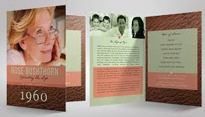 Templates For Funeral Program Amazing Funeral Program Booklet Templates Seraphimchris Graphic