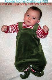 host an baby clothes contest rookie