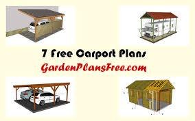 Car Port Plans 7 Free Carport Plans Free Garden Plans How To Build Garden