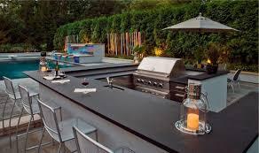 outdoor kitchen countertop ideas 31 amazing outdoor kitchen ideas planted well