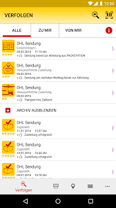 Wann Kommt Dhl Paket by Dhl Paket 2 18 Apk Download Android Productivity Apps