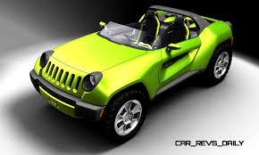 jeep concept cars 2008 jeep renegade concept