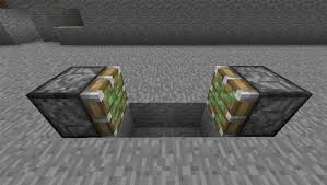 Minecraft How To Make Bathroom How To Make Buttons Work Like Levers In Minecraft Using A T Flip
