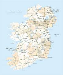 political map of ireland royalty free editable vector maproom