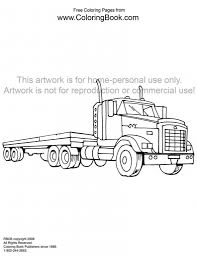 how to draw a 18 wheeler pencil art drawing